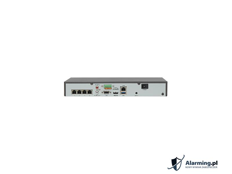 REJESTRATOR IP DS 7604NI E1 4P A ONVIF 4 KANA Y 4 PORTOWY SWITCH POE HIKVISION
