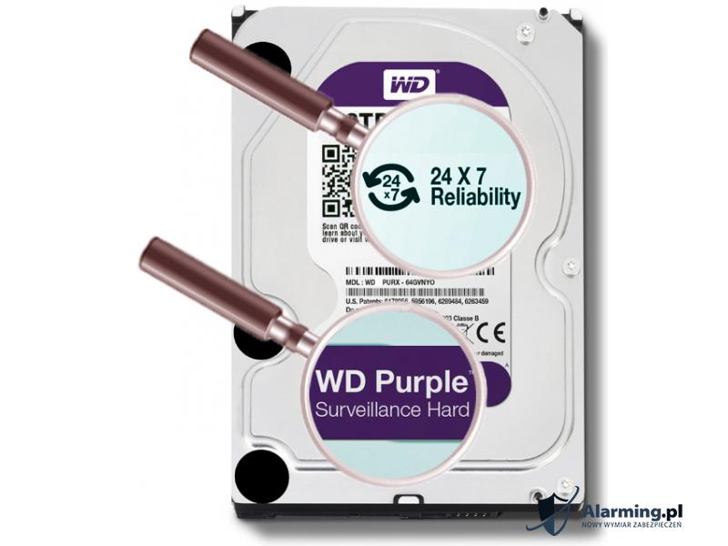 DYSK DO REJESTRATORA HDD WD30PURX 3TB 24 7 WESTERN DIGITAL