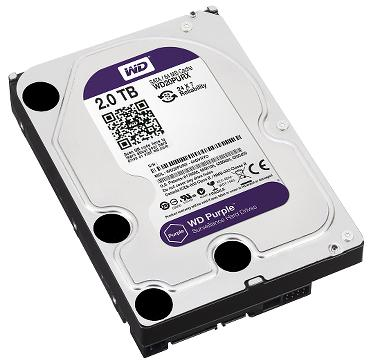 DYSK DO REJESTRATORA HDD-WD20PURX 2TB 24/7 WESTERN DIGITAL