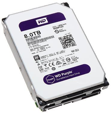 DYSK DO REJESTRATORA HDD-WD80PUZX 8TB 24/7 WESTERN DIGITAL