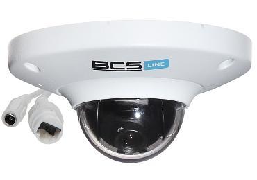 KAMERA WANDALOODPORNA IP BCS-DMIP1200E ONVIF 2.0, - 1080p 2.8 mm