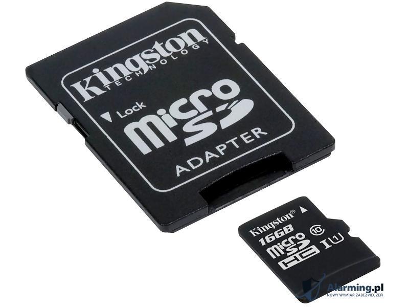 KARTA PAMIĘCI SD-MICRO-10/16 SDHC 16 GB