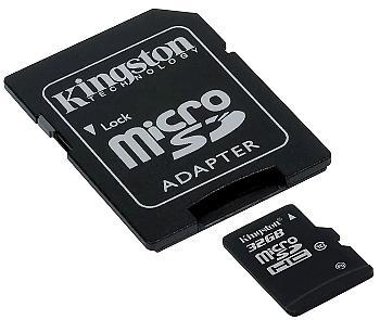 KARTA PAMIĘCI SD-MICRO-10/32 SDHC 32 GB
