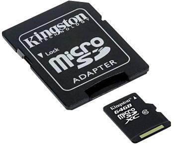 KARTA PAMIĘCI SD-MICRO-10/64 SDXC 64 GB