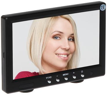 MONITOR 2xVIDEO VMT-071 7 ""