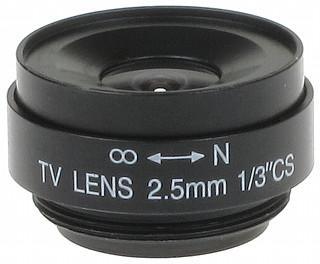 OBIEKTYW STAŁY CS-2.5 2.5 mm