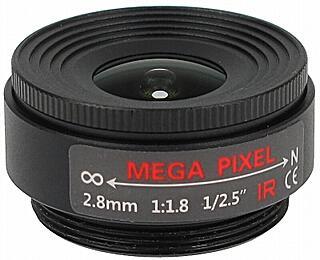 OBIEKTYW STAŁY IR MEGA-PIXEL 30CS25-28 2.8 mm