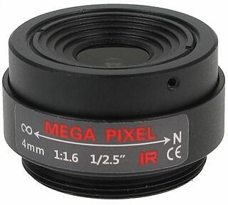 OBIEKTYW STAŁY IR MEGA-PIXEL 30CS25-40 4 mm