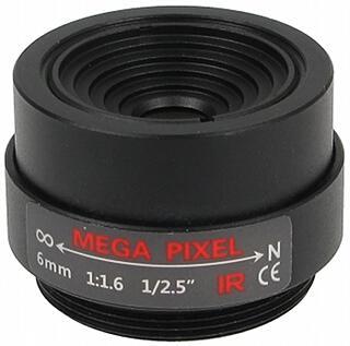 OBIEKTYW STAŁY IR MEGA-PIXEL 30CS25-60 6 mm