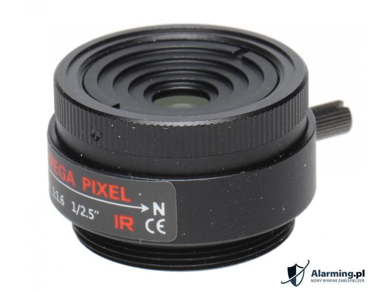 OBIEKTYW STAŁY IR MEGA-PIXEL 50CS25-80 8 mm