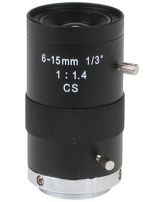 OBIEKTYW ZOOM CS-6-15 6 ... 15 mm