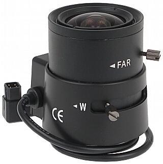 OBIEKTYW ZOOM CS30-3508/DC 3.5 ... 8 mm DC