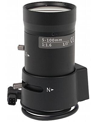 OBIEKTYW ZOOM CS30-50100/DC 5 ... 100 mm DC