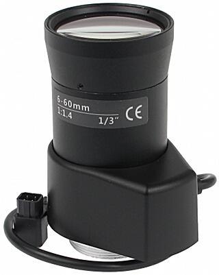 OBIEKTYW ZOOM CS30-6060/DC 6 ... 60 mm DC