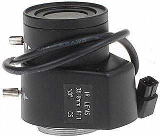 OBIEKTYW ZOOM IR CSI-3.5-8/DC 3.5 ... 8 mm DC