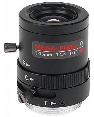 OBIEKTYW ZOOM IR MEGA-PIXEL 13CS30-5015/M 5 ... 15 mm