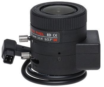 OBIEKTYW ZOOM IR MEGA-PIXEL 30CS27-3010/DC 3 ... 10.5 mm DC
