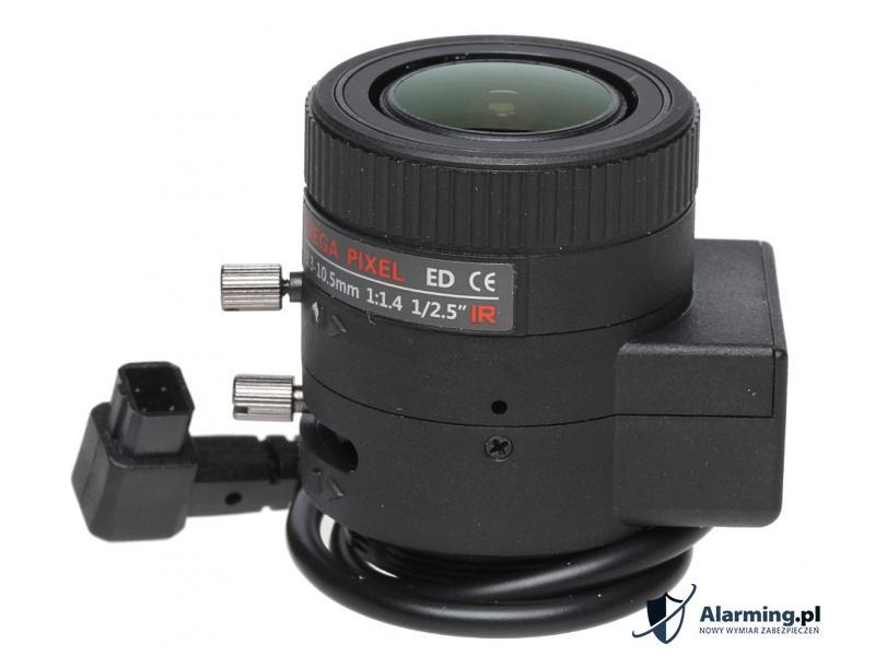 OBIEKTYW ZOOM IR MEGA-PIXEL 50CS25-3310/DC 3.3 ... 10.5 mm DC