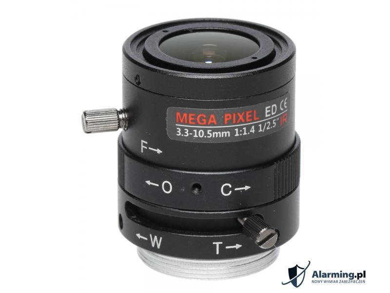 OBIEKTYW ZOOM IR MEGA-PIXEL 50CS25-3310/M 3.3 ... 10.5 mm