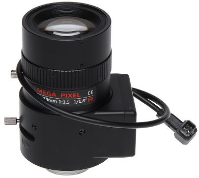 OBIEKTYW ZOOM IR MEGA-PIXEL 80CS18-12050/DC, 4K UHD 12 ... 50 mm
