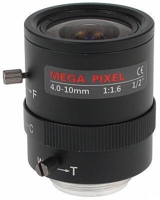 OBIEKTYW ZOOM MEGA-PIXEL 20C20-4010/M 4 ... 10 mm
