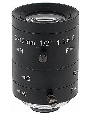 OBIEKTYW ZOOM MEGA-PIXEL 30C20-6012/M 6 ... 12 mm
