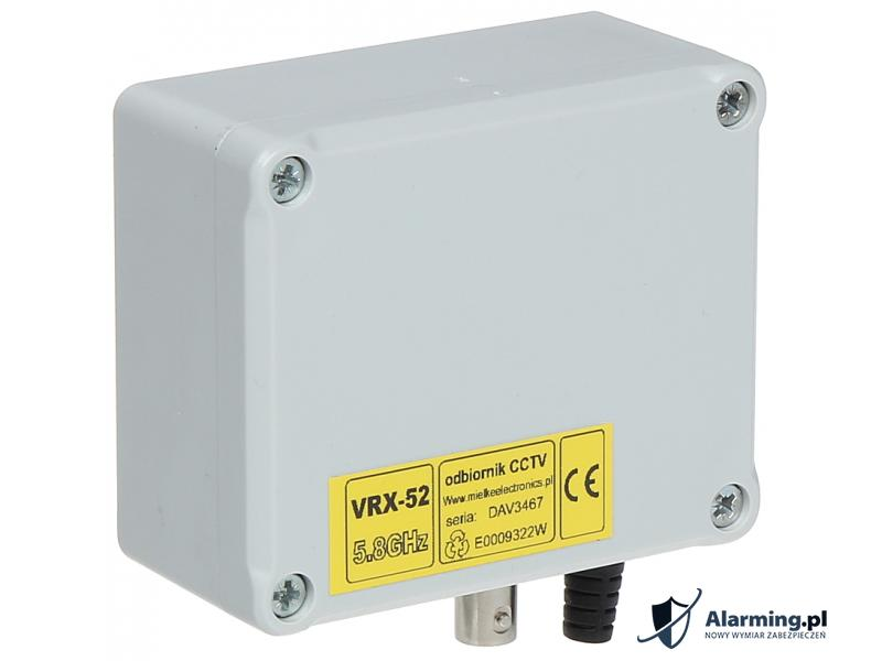 ODBIORNIK 5.8 GHz VRX-52A 7 KANAŁÓW