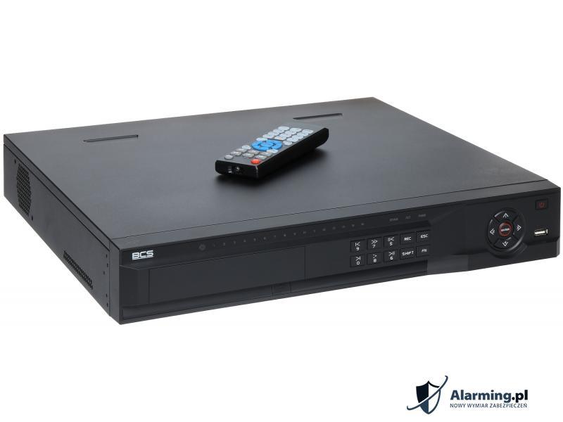 REJESTRATOR IP BCS-NVR08045M-P ONVIF 2.0, 8 KANAŁÓW +8-PORTOWY S