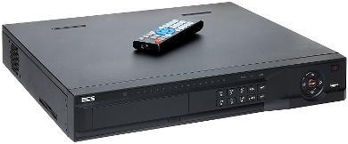 REJESTRATOR IP BCS-NVR16045ME-P ONVIF 2.0, 16 KANAŁÓW +16-PORTOW