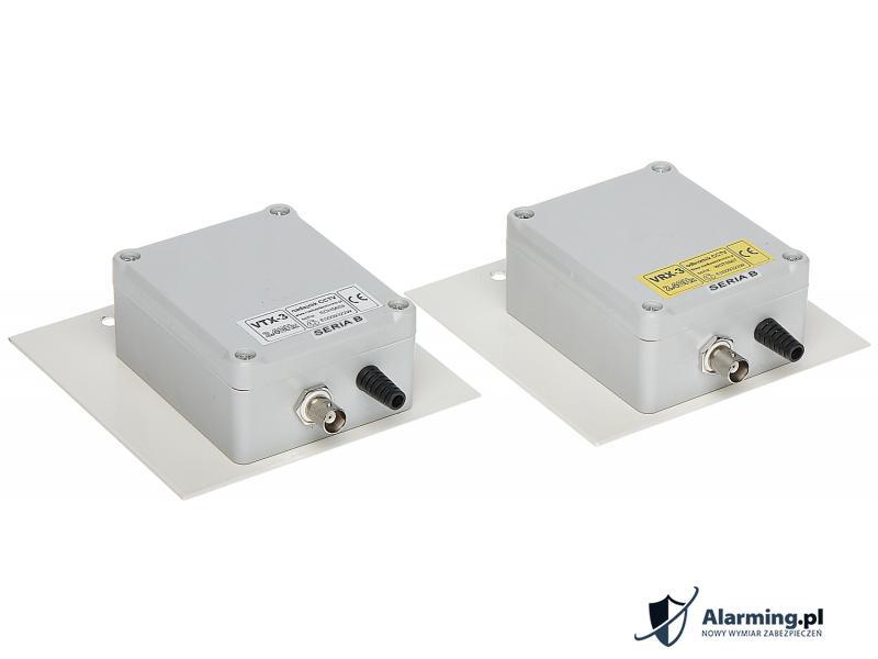 ZESTAW DO TRANSMISJI BEZPRZEWODOWEJ 2.4 GHz VID-5B KOMPLET TXRX