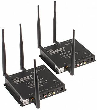 ZESTAW DO TRANSMISJI BEZPRZEWODOWEJ 5.2 GHz CDS-5021 KOMPLET TXR