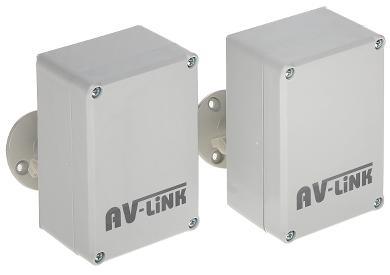 ZESTAW DO TRANSMISJI BEZPRZEWODOWEJ AHD-M 5.8 GHz AV-300AHD-MINI